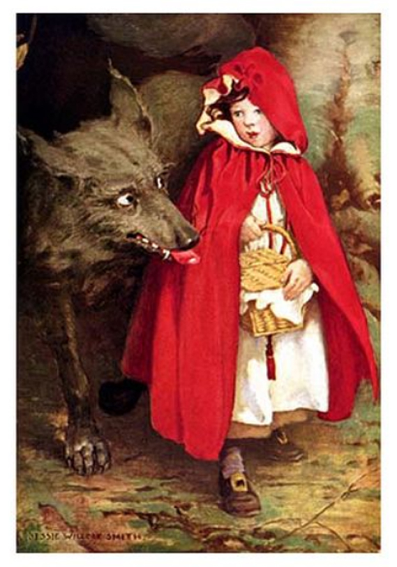 Little Red Riding Hood - J. W. Smith